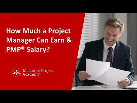 How Much A Project Manager Or PMP Can Earn?