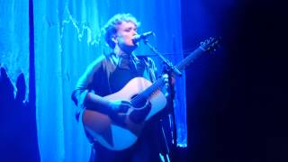 Ane Brun - My Lover Will Go - Solo Acoustic Tour Muffathalle Munich 2014-11-17