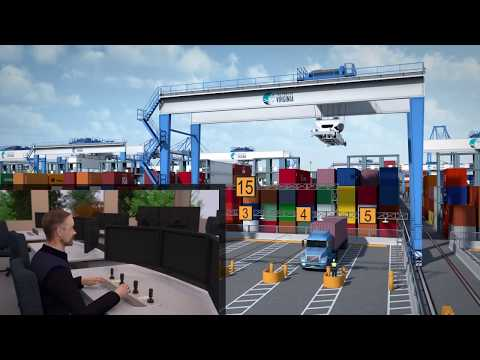 How Simulation Can Help to Design Port Terminals - TBA's Dr. Saanen
