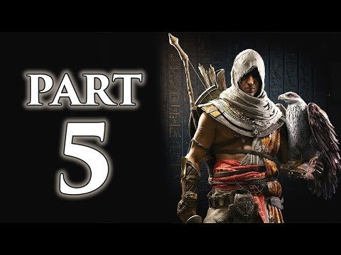 "Assassin's Creed Origins - Let's Play - Part 5 - ""Aya, Gennadios, The Snake"""
