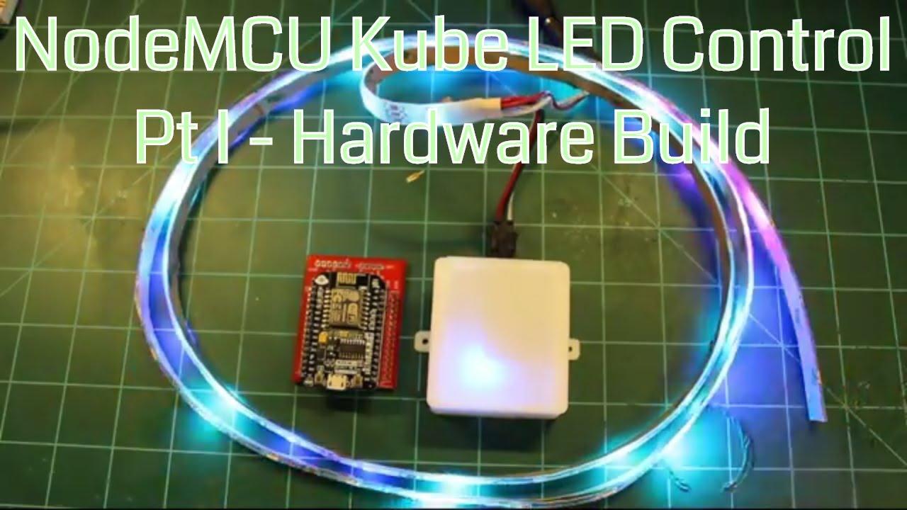 Nodemcu Kube Led Strip Controller Part I Hardware Build Youtube Ledstrip Programming