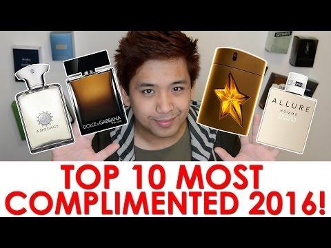 TOP 10 MOST COMPLIMENTED FRAGRANCES 2016 | CascadeScents