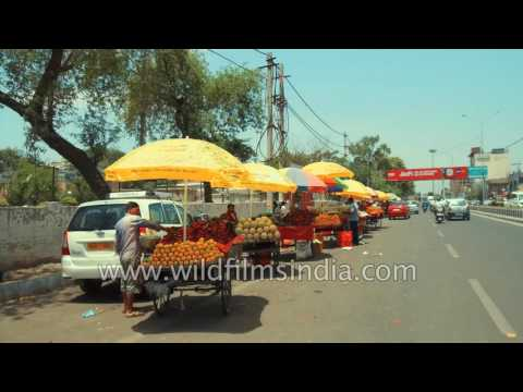 Road trip through Amritsar city, Punjab