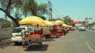 Road trip through Amritsar city, Punjab