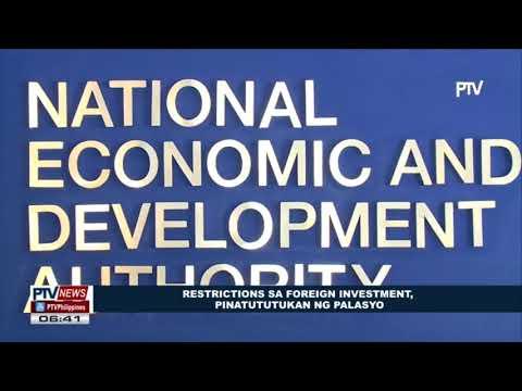 Restrictions sa foreign investment, pinatutukan ng Palasyo