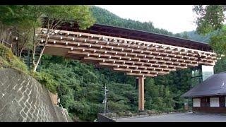新建築2010年11月号 Web連動企画 梼原・木橋ミュージアム