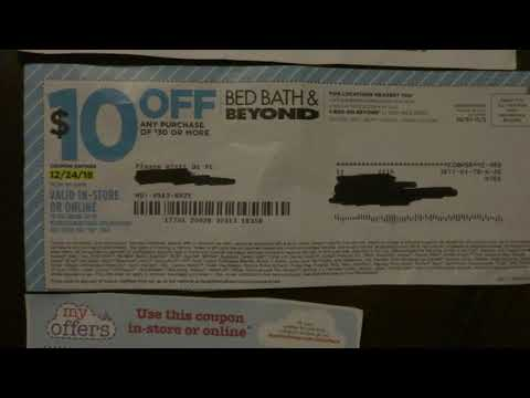 Bed Bath & Beyond Coupon Strategy