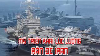 Mỹ triển khai lực lượng răn đe Iran