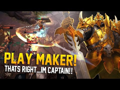 PLAY MAKER LANCE!! Vainglory 5v5 Gameplay - Lance |Captain|