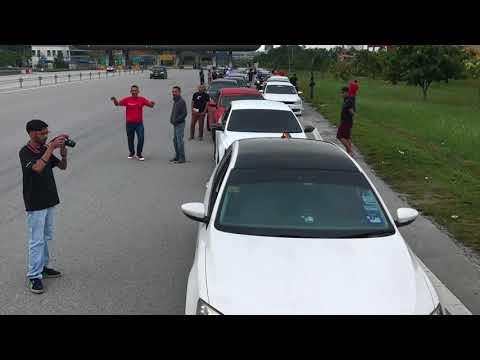 VW Jetta Club and Honda Civic Turbo Club Malaysia Lenggeng Drive