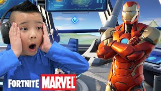 NEW Season 4 Fortnite Marvel First Gameplay With CKN Gaming