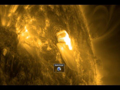 BIG M6 Solar Flare, New Earth-like Planet | S0 News Apr.18.2016
