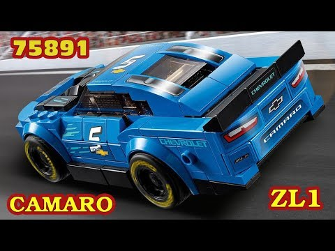 Lego Speed Champions  75891  Chevrolet   Camaro ZL1 Race Car - UNBOXING