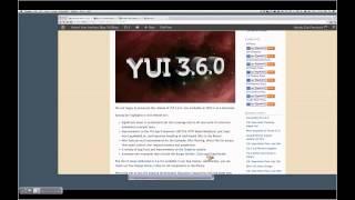 YUI Open Hours: 3.6.0 Release