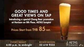 Beer Garden At Aetas Lumpini