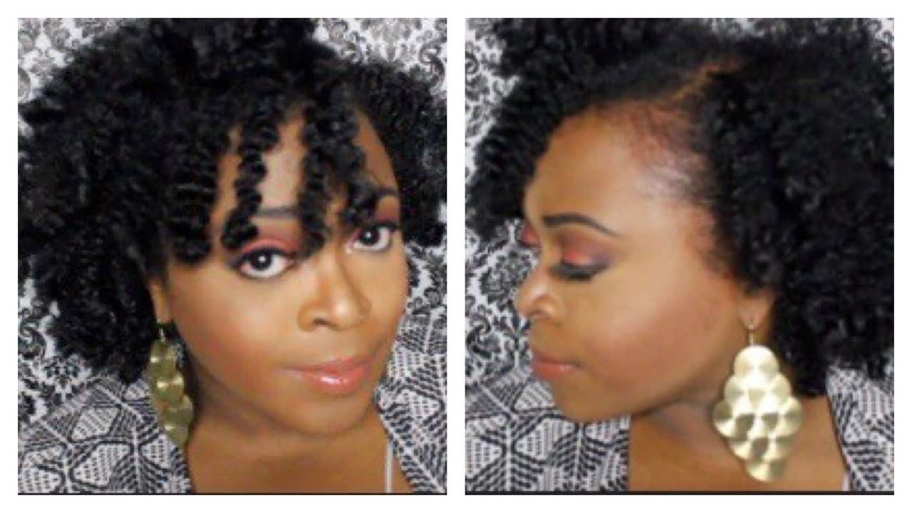Braid Out On Short Natural Hair Uphairstyle
