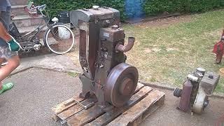 Demarge moteur Bernard WD14 par un W110