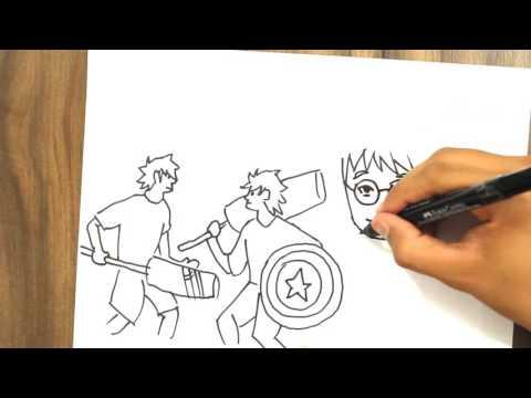 Anime Cruzeiro Draw My Life - Em comemoração aos 05 Anos