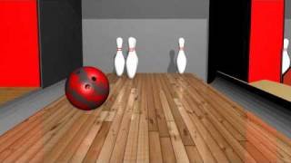 bowling blender game engine animation