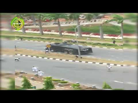 SHIITE YOUTHS CLASH WITH POLICEMEN IN ABUJA