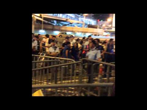 Democracy , Hong Kong , Human Right , September 2015 , yellow umbrella  part2