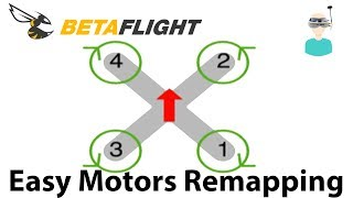 Betaflight Motors Remapping Guide