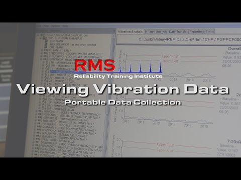 Vibration Analysis - Viewing Vibration Data