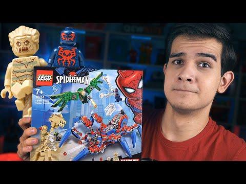 LEGO ЧЕЛОВЕК-ПАУК - Песочный Человек и Человек-Паук 2099 (76114)