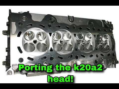K20a2 head porting time