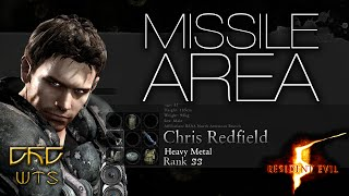 RE5 - Mercenaries Reunion Guide SS RANK Chris Heavy Metal - Missile Area [NARRADO]
