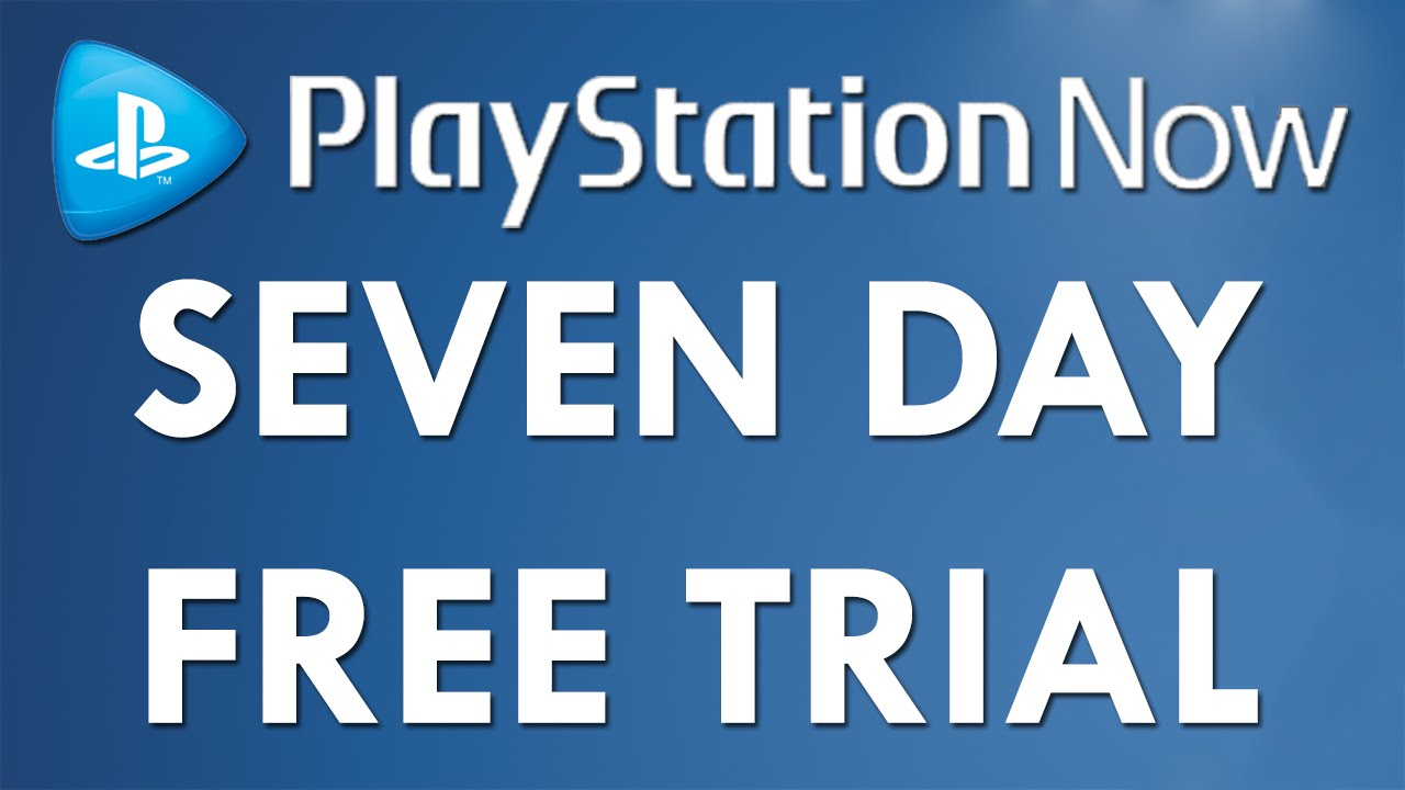 PSNow Free 7 Day Trial for PS4 - Playstation Now (PS Now)