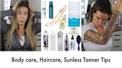 Body Care   Haircare   Sunless Tanner Tips   My FIRST coupon code for a good cause