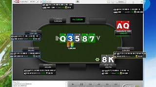 Покер видео: МТТ от Matters771 – Часть 2