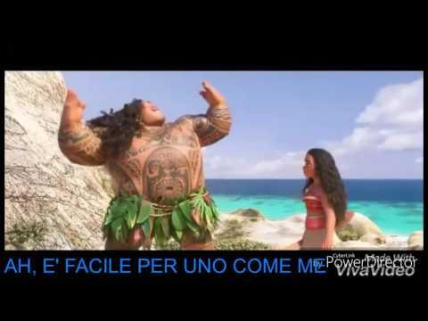 Oceania - Tranquilla con testo in italiano - Lyrics karaoke