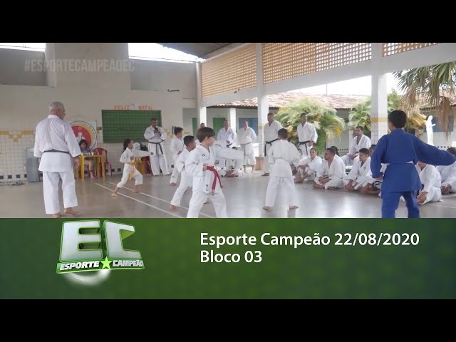 Esporte Campeão 22/08/2020 - Bloco 03