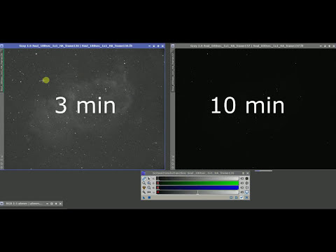 Astrophotography: 3 minute vs  10 minute Exposures