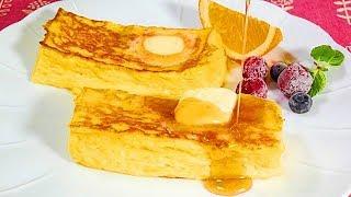 ホテルオークラさんが公開されているフレンチトーストを忠実に再現してみました。 HPで詳細なレシピを公開されている事に、揺るぎない自信と...