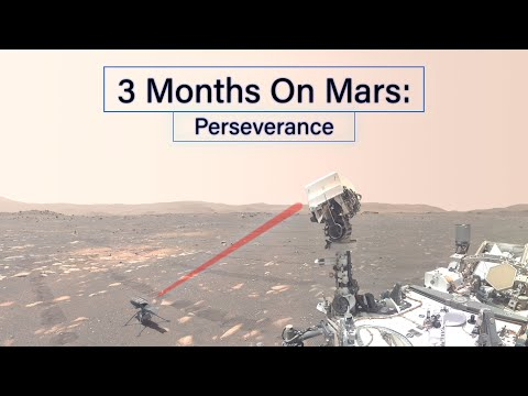 3 Months On Mars: Perseverance