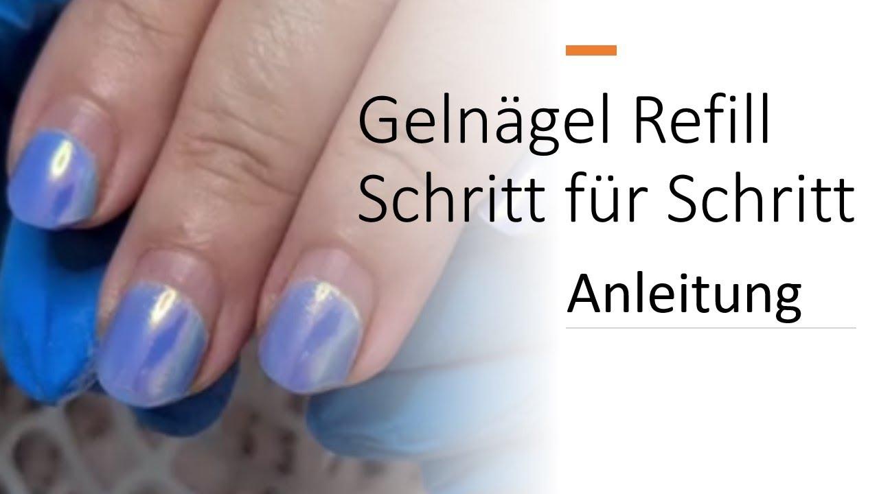 GELNÄGEL AUFFÜLLEN //Anleitung