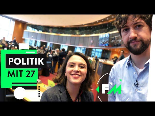 Jung & in der Politik: So stressig ist die Arbeit im EU-Parlament