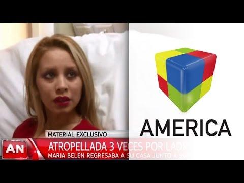 María Belén, la policía atropellada, se recupera favorablemente