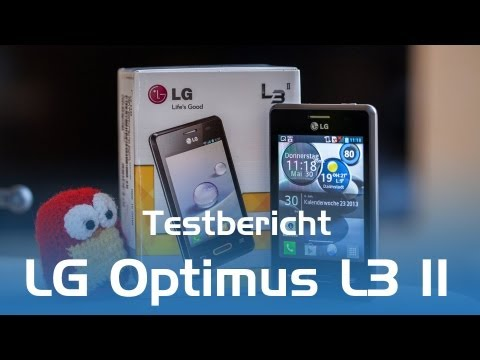 LG Optimus L3 II Testbericht