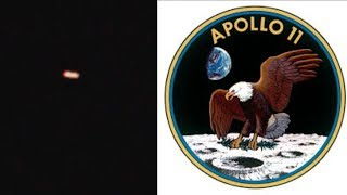 *NEW* Did Apollo11 Image Capture a Giant UFO above Earth?