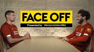 Face Off: Salah and Lovren go head-to-head | Cats v Dogs, Pizza toppings & more