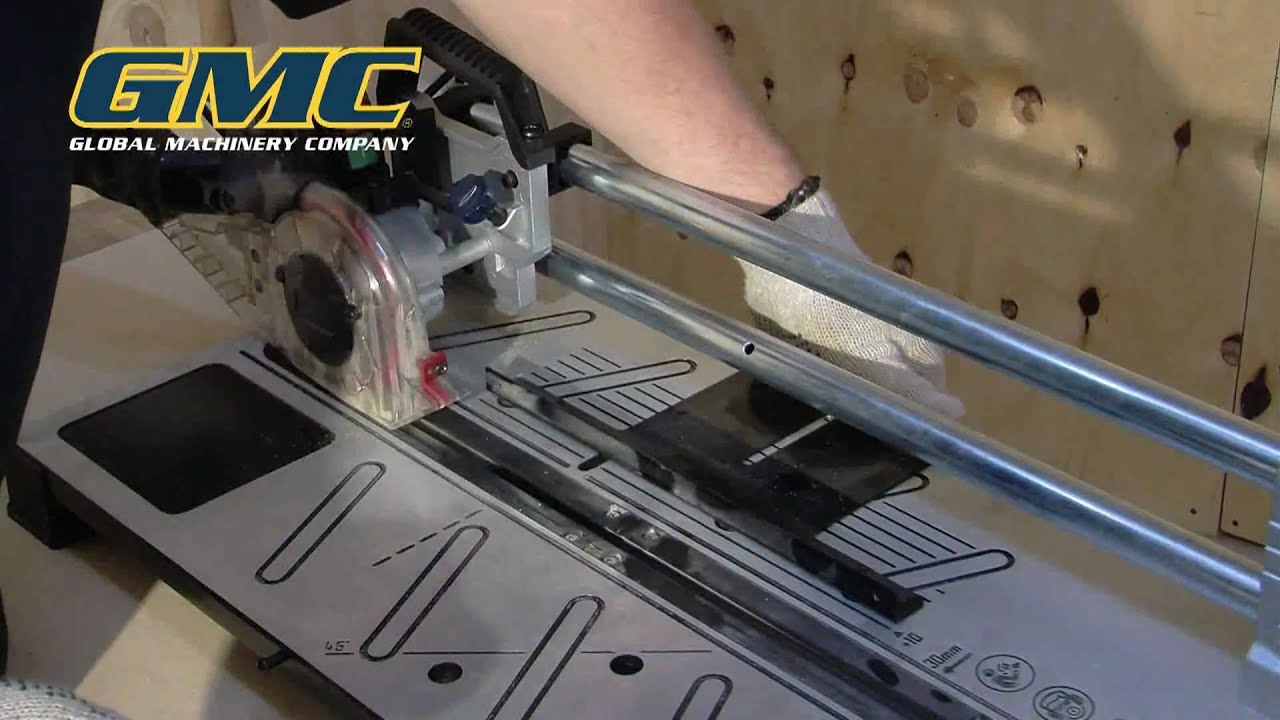 gmc instructional: ms018 laminate saw - youtube