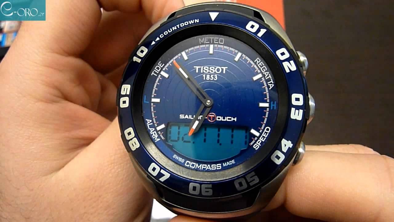 Tissot Sailing Touch Chronograph Men's Watch ...