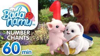 Number Chants | Badanamu Compilation l Nursery Rhymes & Kids Songs