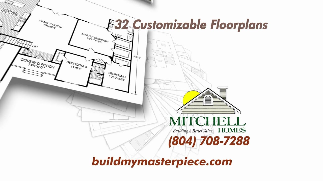 Mitchell Homes TV Commercial YouTube - Mitchell homes floor plans