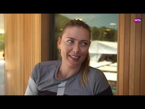 Maria Sharapova Returns From Injury In Mallorca