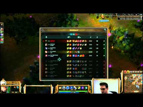 SK Ocelote Lux Baron Steal LIVE EPIC With Countdown